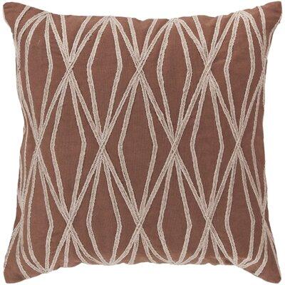 Daring Diamond Cotton Throw Pillow by Surya