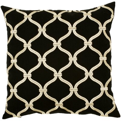 Tranquil Trellis Throw Pillow by Surya