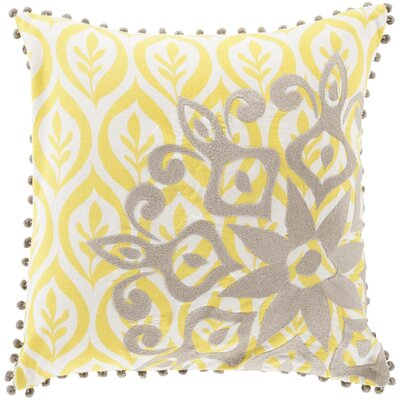 Cotton Throw Pillow by Surya