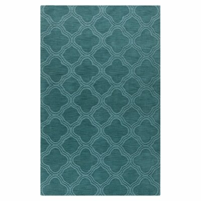 Mystique Teal Green Area Rug by Surya