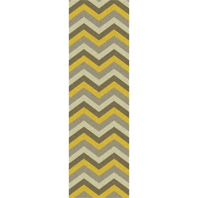Mamba Gray Chevron Rug by Surya