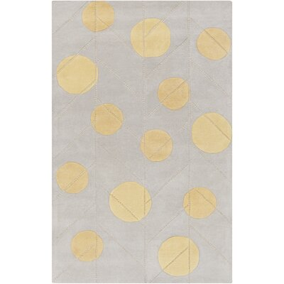 Theory Gold/Light Gray Area Rug by Surya