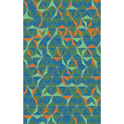 Houseman Emerald/Aqua Area Rug by Surya