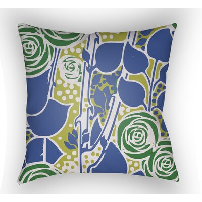 Chinoiserie Floral Throw Pillow by Surya