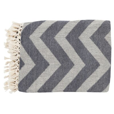 Thacker Cotton Throw Blanket by Surya