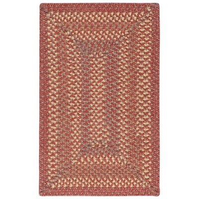 Dover Red Braided Rug by Surya