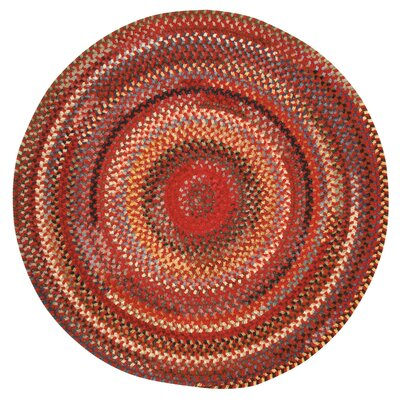 Eaton Country Red Variegated Area Rug by Capel