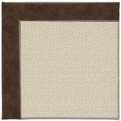 Inspirit Linen Machine Tufted Burgundy Area Rug by Capel