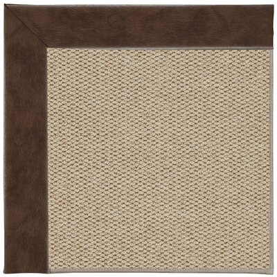 Inspirit Champagne Machine Tufted Burgundy/Brown Area Rug by Capel