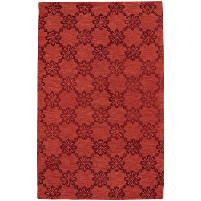 Kevin O'Brien Link Hand Tufted Cardinal Area Rug by Capel