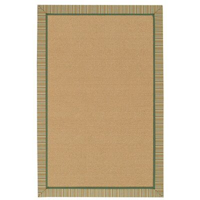 Capel Rugs Lakeview Fall Green Stripes Indoor/Outdoor Rug