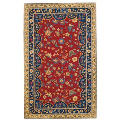 Lorraine Red Poppy Rug by Capel
