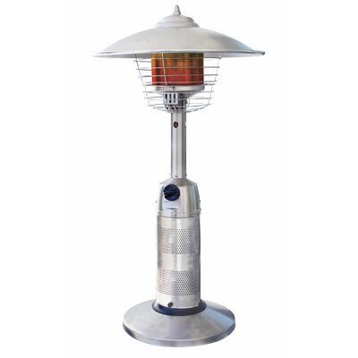 Tabletop Propane Patio Heater by Uniflame