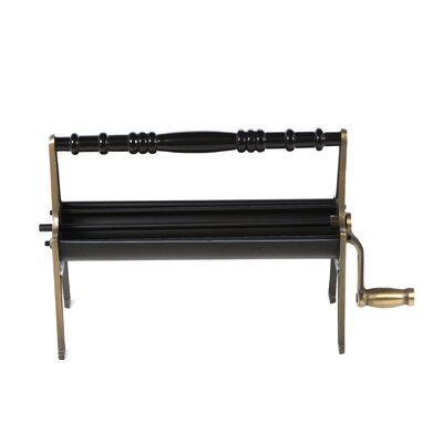 Uniflame Corporation Brass Newspaper Log Roller