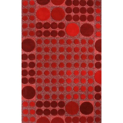 Dynamic Rugs Allure Red Allurerary Rug