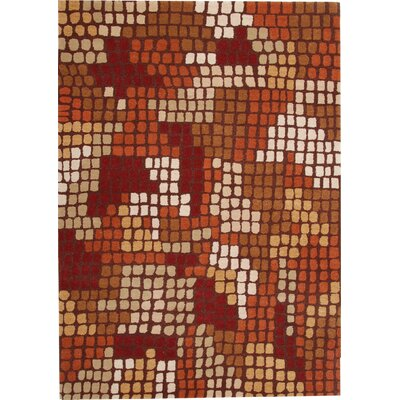 Odyssey Red Rug by Dynamic Rugs