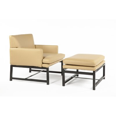 Kuopio Lounge Chair and Ottoman by Control Brand