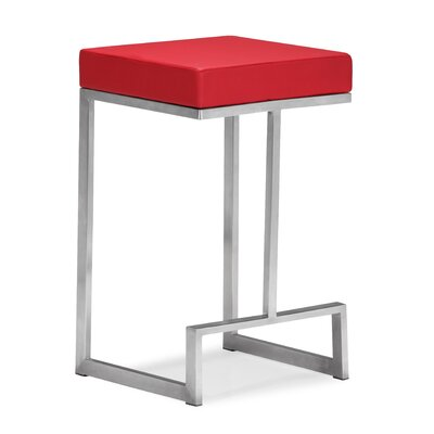 Plush Bar Stools Darwen 24 Bar Stool With