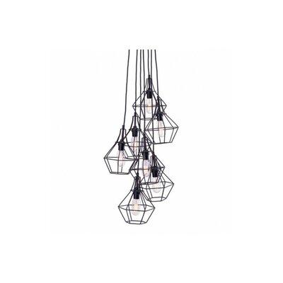 Dcor Design 7 Light Cascade Pendant Amp Reviews Wayfair
