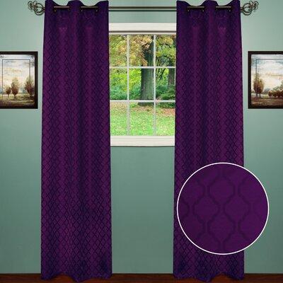 Lattice Curtain Panel (Set of 2) Product Photo