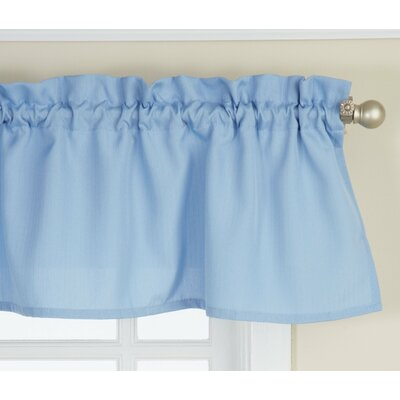 Opaque Ribcord Kitchen Curtain Valance Product Photo