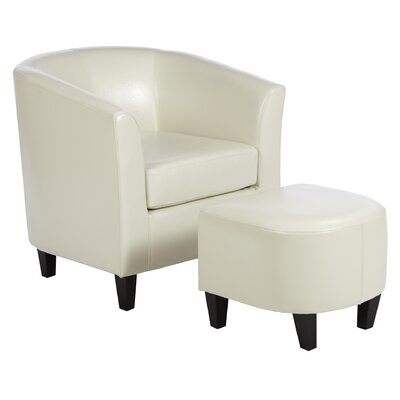 Mercury Row Apollonios Retro Club Chair Amp Ottoman Set