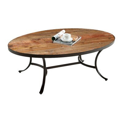 Mercury row oval coffee table for Wayfair oval coffee table