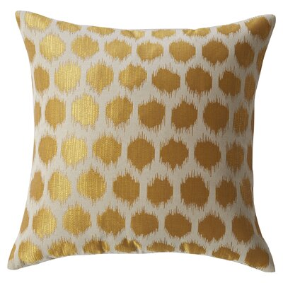 Moroccan Polka Dots Throw Pillow by Mercury Row