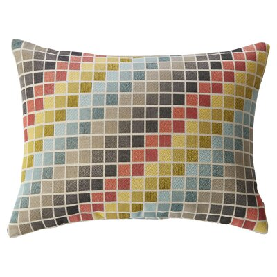 Tetris Lumbar Pillow by Mercury Row