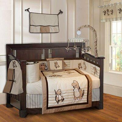 Dinosaur Baby 10 Piece Crib Bedding Set by Babyfad