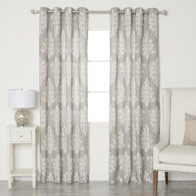 Linen Blend Grommet Top Curtain Panels (Set of 2) Product Photo