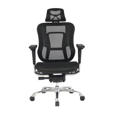 High Back Mesh Office Chair with Adjustable Arms, Headrest, Back and Seat by Viva Office ...