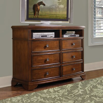 Chesterfield 6 Drawer Double Dresser by Carolina Home Collection