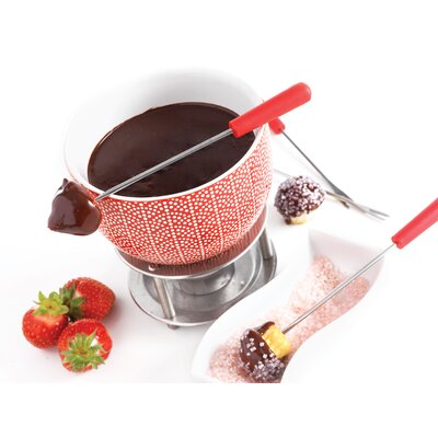 7 Piece Rising Sun Chocolate Fondue Set by MASTRAD