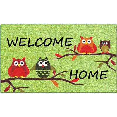 Welcome Home Doormat by A1 Home Collections LLC