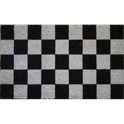 Tufted Check Doormat by A1 Home Collections LLC