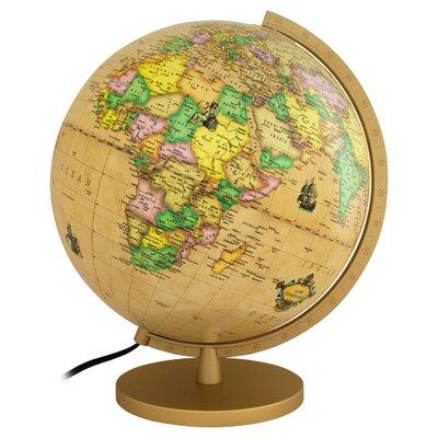 Renaissance Illuminated Globe by Columbus Globe