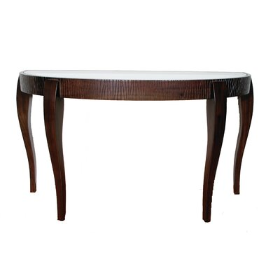 Garis Demilune Console Table by Indo Puri