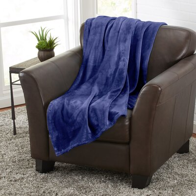 Darcy Ultra Plush Velvet Throw by Home Fashions