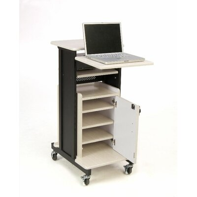 Oklahoma Sound Premium Plus Presentation Cart Full Podium