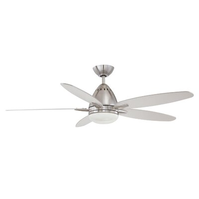 "52"" Genesis 5 Blade Ceiling Fan with Wall Remote Product Photo"