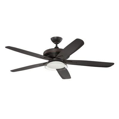 """56"""" Saturn 5 Blade Ceiling Fan with Wall Remote Product Photo"""