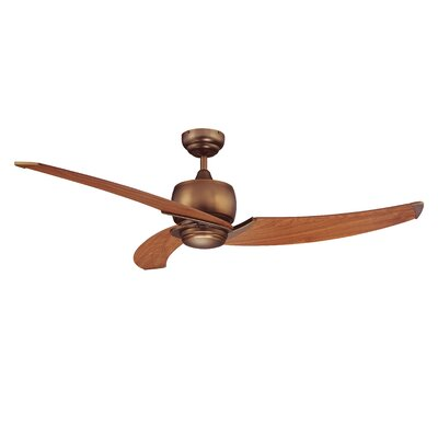 "52"" Treo 3 Blade Ceiling Fan with Wall Remote Product Photo"