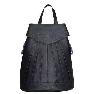Pleated Mini Backpack by AmeriLeather