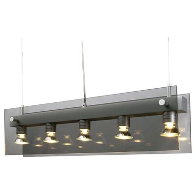 IGU 5 Light Kitchen Island Pendant Product Photo