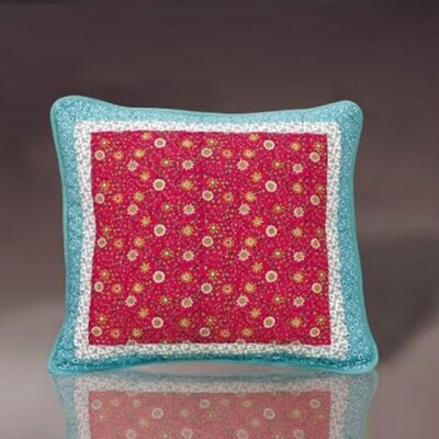 Fairy Forest Glade Floral Cushion Cover by DaDa Bedding