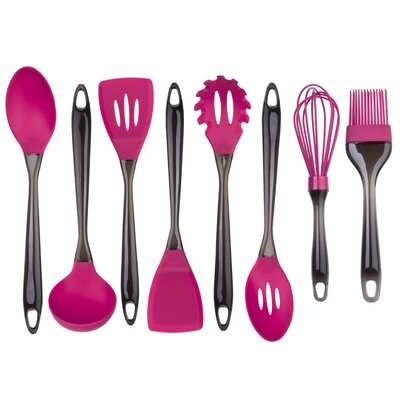 8 Piece Silicone Utensil Set by Culinary Edge