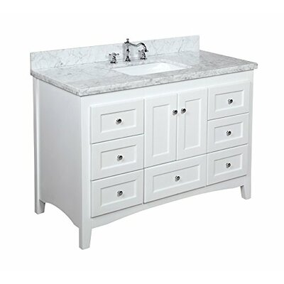 "Abbey 48"" Single Bathroom Vanity Set Product Photo"