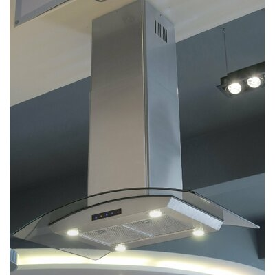 "Kitchen Bath 30"" 810 CFM Island Range Hood Product Photo"