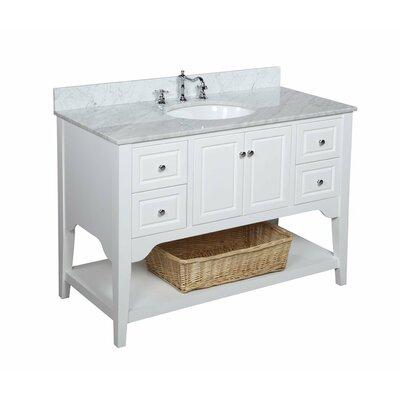 "Washington 48"" Single Bathroom Vanity Set Product Photo"